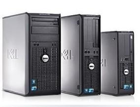戴尔台式电脑双核四核330 360 755 760 380 780 主机大机箱