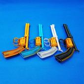 (铝线手枪模型)铝线工艺品手工编织玩具地摊火爆货源单车南京