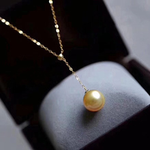 DIY Pearl Accessories Pearl Necklace G18K Gold Y Chain Sleeve Chain Hollow Bracket AU750K Gold Regulating Chain Fine Chain