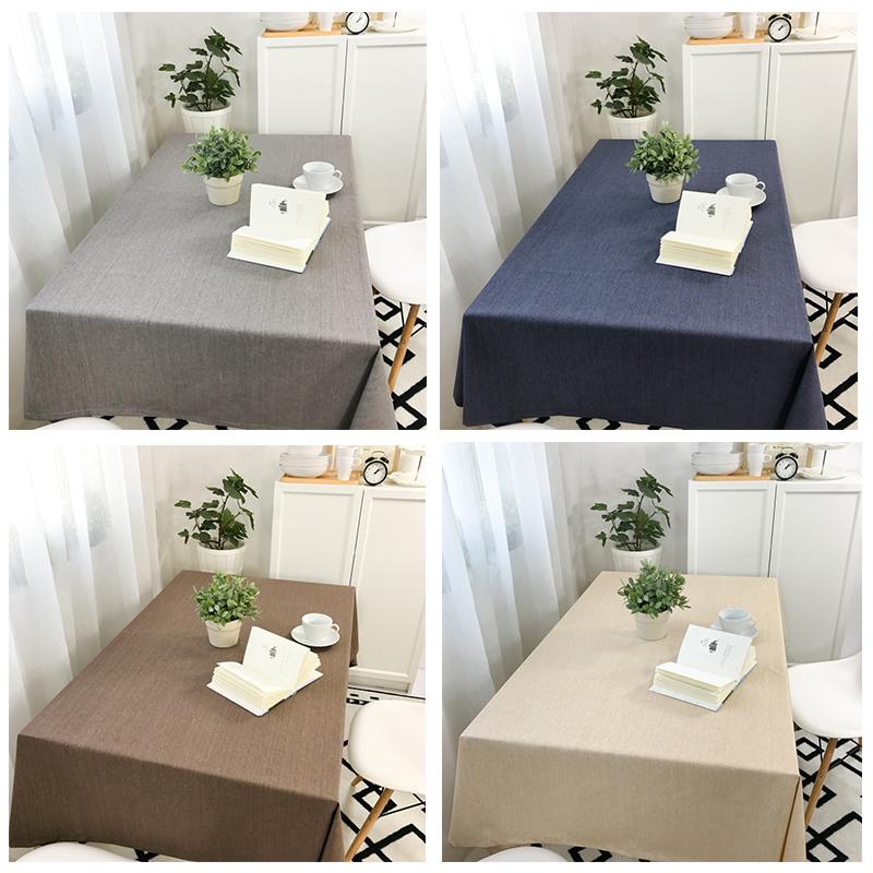 餐厅棉麻餐桌垫