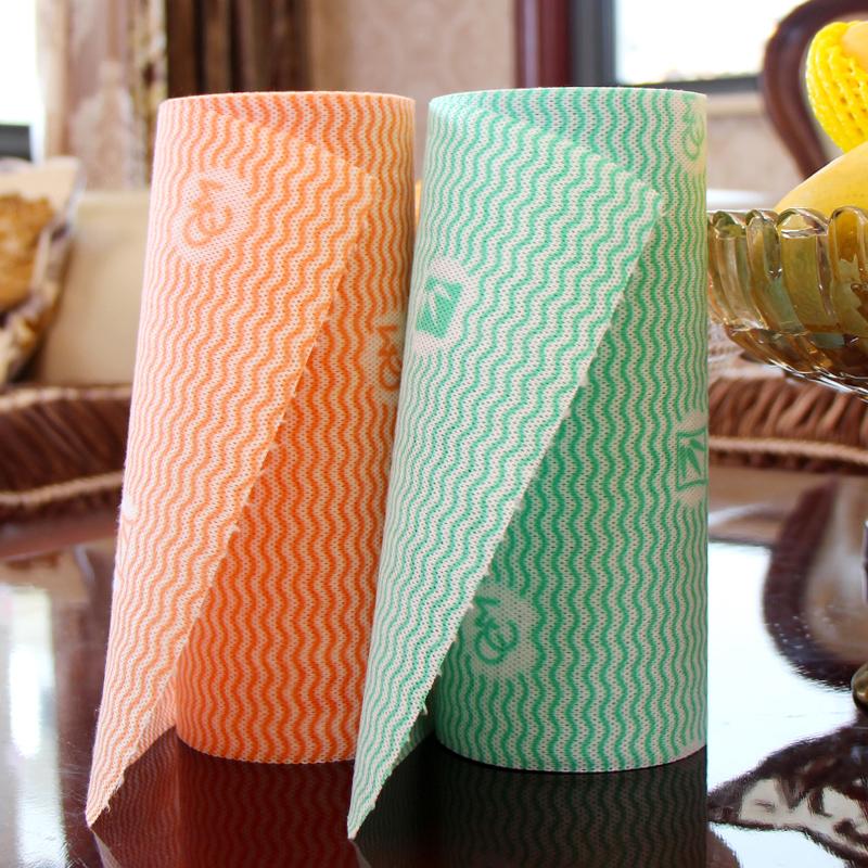 大号2卷装 抹布吸水不掉毛厨房用家务清洁巾刷碗布不沾油洗碗布1元优惠券