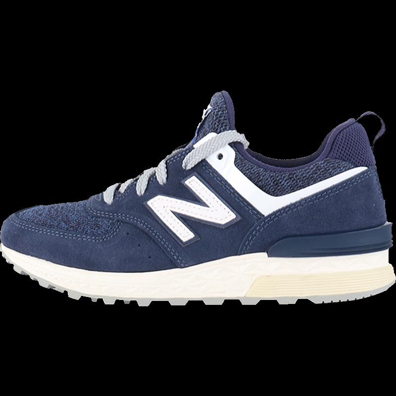 【直营】NewBalance进口跑步鞋男女款2017复古休闲MS574BB BG美国