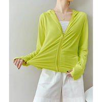 Belle Garden Mint Flavor ~ Sunscreen Clothing Women's Jacket Summer Thin UV Breathable Sunscreen Shirt 7 colors