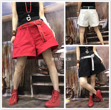 European shorts, women's new overalls, slacks, wide-legged pants, casual large chic fashionable summer pants