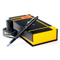 Picasso pen M06 adult students with the word special pen art pen elbow curved tip calligraphy pen men's women's business office signature extra fine gift box custom logo free lettering