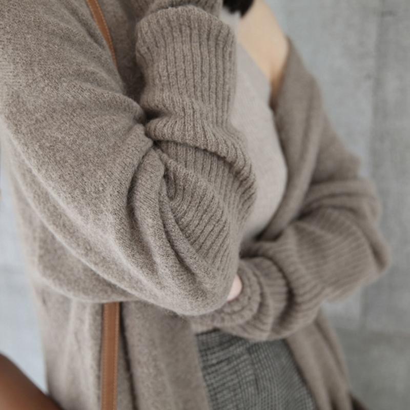 慵懒宽松加厚毛衣