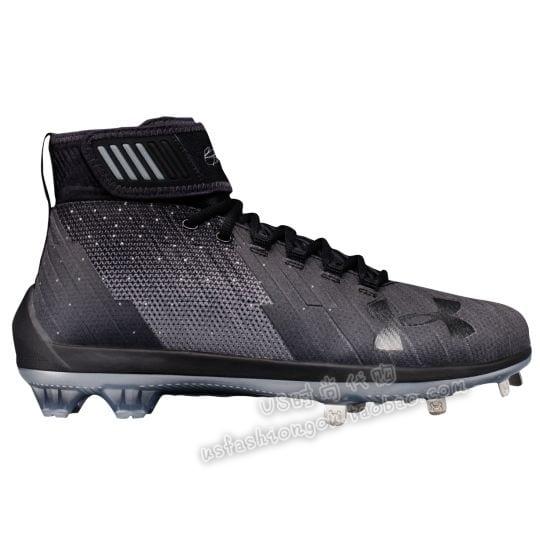 美国购回2018款UA Harper Two Mid St安德玛男子舒适透气橄榄球鞋