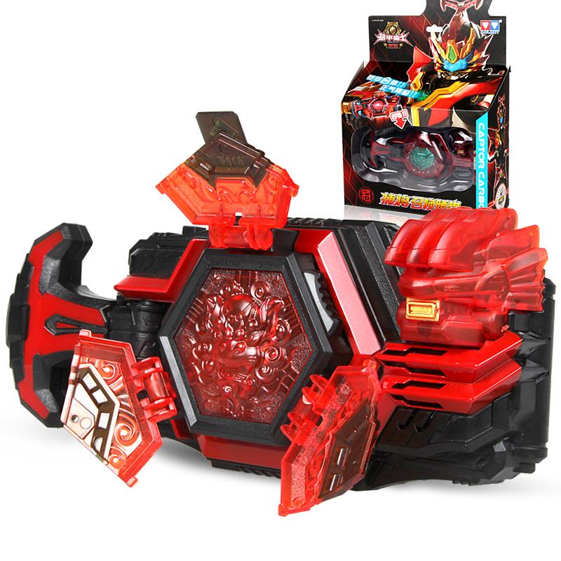 奥迪双钻铠甲勇士4捕将召唤器腰带变身器套装卡魄儿童玩具男孩5元优惠券