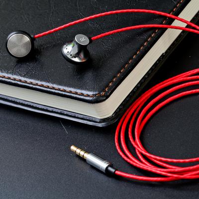 耳塞式金属HIFI平头塞耳机发烧DIY监听音乐手机电脑通用MP3运动麦哪个牌子好