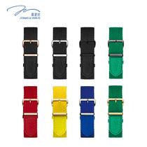 多色彩时尚潮流男手表牛皮表带20mm表头宽唯路时石英表男士表带