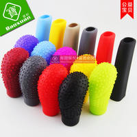 Silicone gear cover car gear cover manual gear shifter automatic gearshift lever universal gear slip cover
