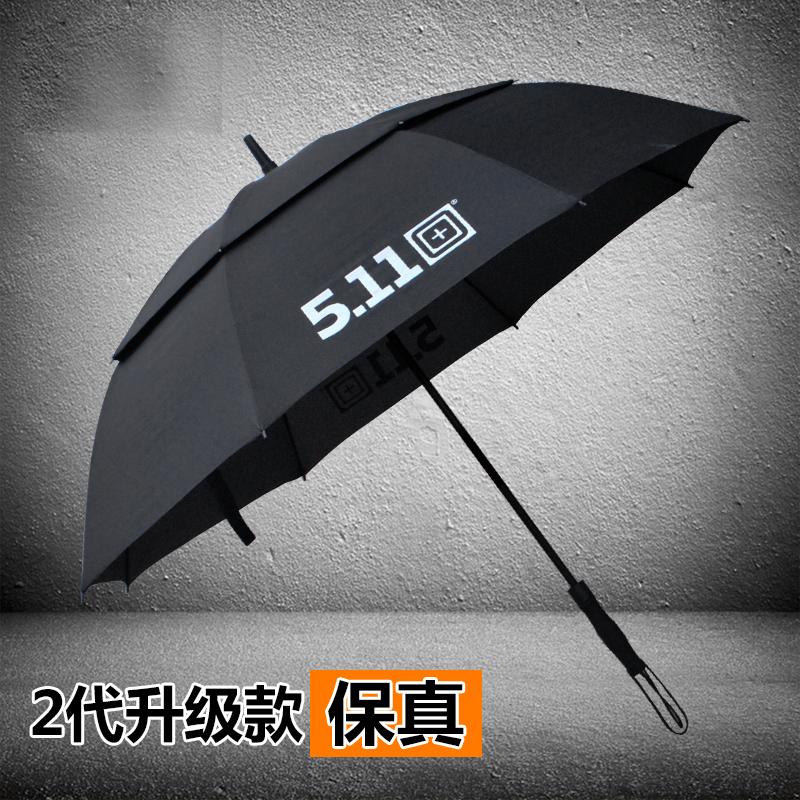 美国5.11超大双层防风伞2代511雨伞户外遮阳长柄伞男女双人商务伞图片
