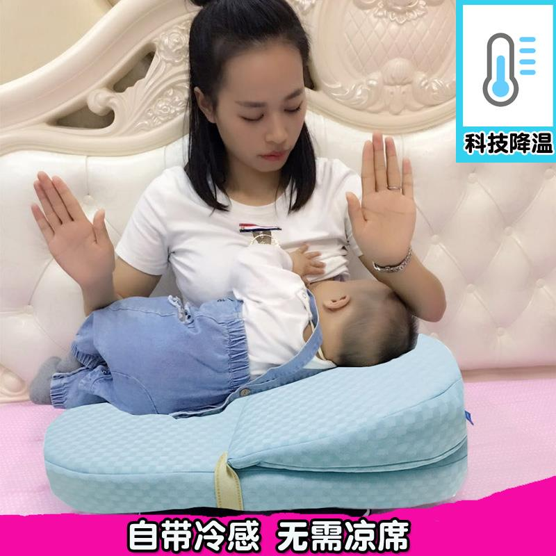 孕妇哺乳枕头喂奶神器新生婴儿喂奶枕垫宝宝防吐奶呛奶枕护腰椅子