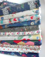 复古蔷薇玫瑰英伦田园碎花纯棉沙发窗帘桌布帆布包包布料