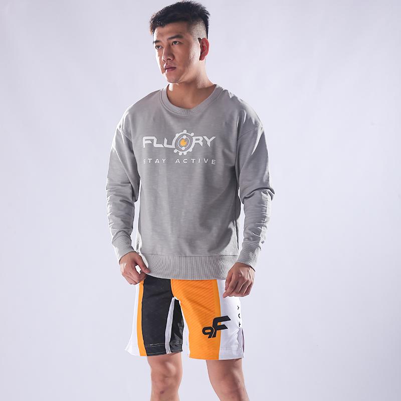 FLUORY运动卫衣男连帽2018新款女长袖韩版宽松秋装休闲运动服套装