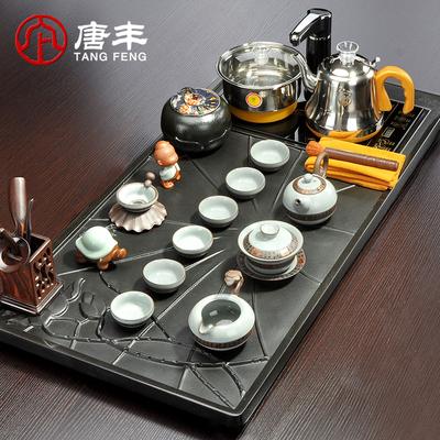 自动茶具套装四合一实木茶盘牌子口碑评测