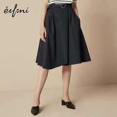 棉半身裙中长