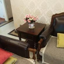 美式实木边几边柜欧式沙发角几电话几客厅小茶几桌方桌咖啡桌角柜