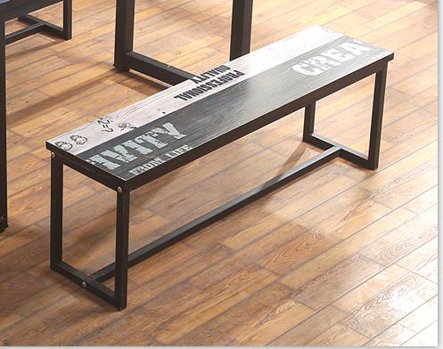 铁艺长凳子复古