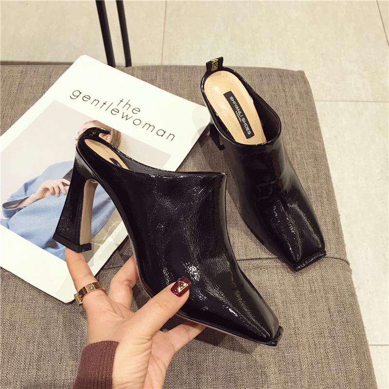 女士托跟鞋