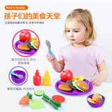 Learning resources children's simulation play house kitchen toys fruits and vegetables color perception