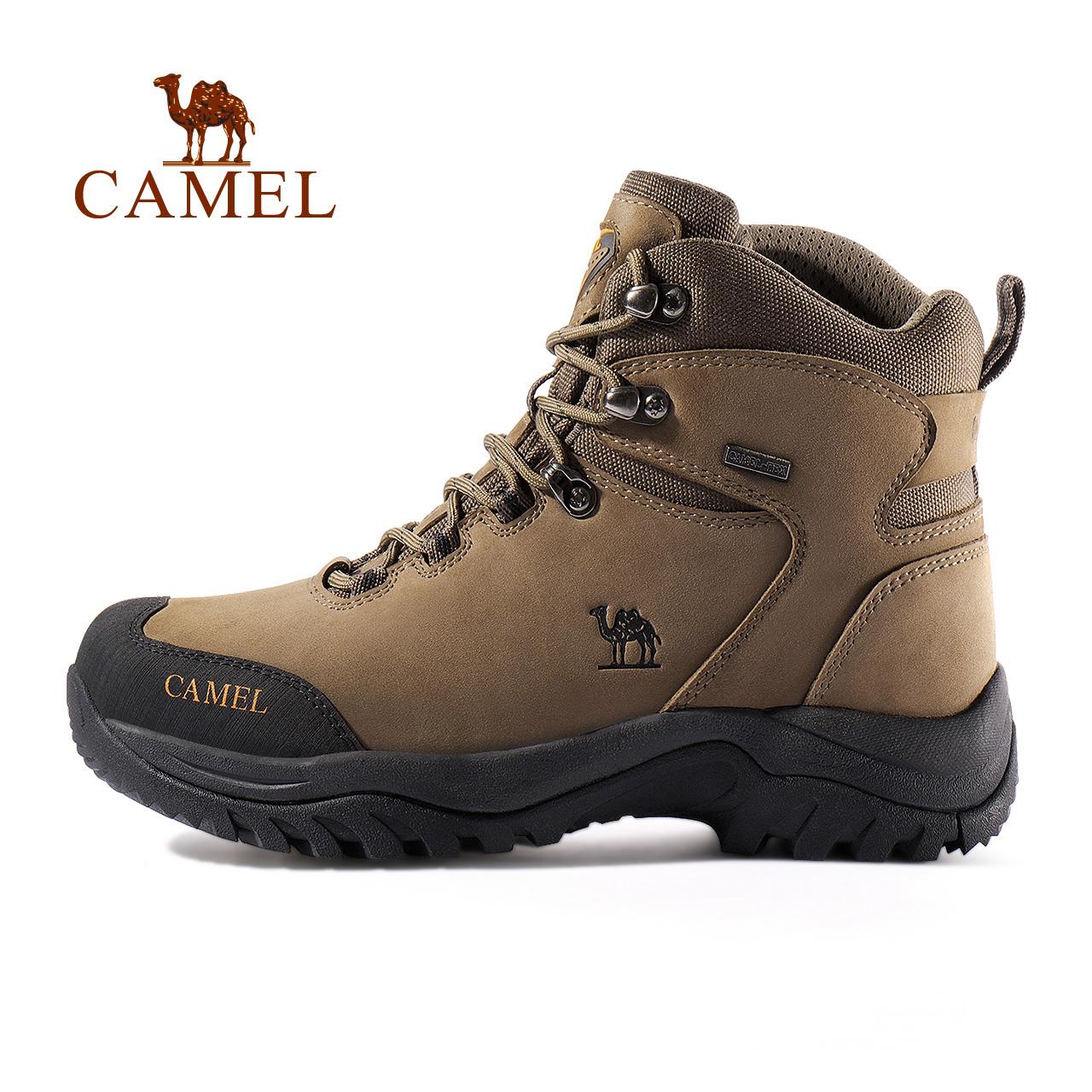 骆驼户外登山鞋男女秋冬季保暖防水防滑耐磨徒步户外鞋高帮登山靴