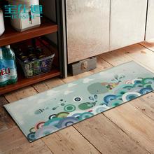 厨房长条防油地垫 卫生间厕所浴室防滑卧室门厅吸水地毯脚踏门垫