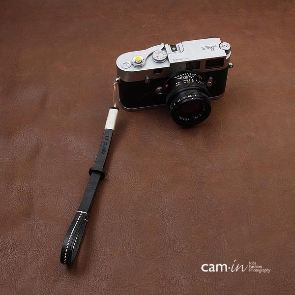 cam-in 手工牛皮细绳单反微单相机手腕带 索尼佳能徕卡 WS011