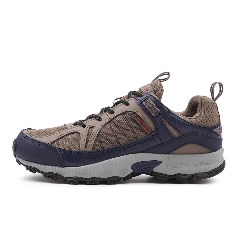 哥伦比亚2019秋冬新品户外男鞋牛皮防水耐磨徒步鞋登山鞋DM1070
