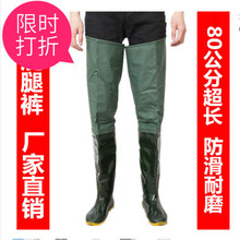A New Type of Rainfall Shoes for Men and Women with Loose-mouth Transplanting and Rainfall Shoes for Men and Women with High-barrel Underwater Trousers and Rainfall Boots for Men and Women