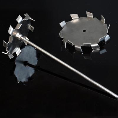 304/不锈钢/实验室/分散桨/三叶桨/三叶片/十字桨/搅拌桨/分散盘/