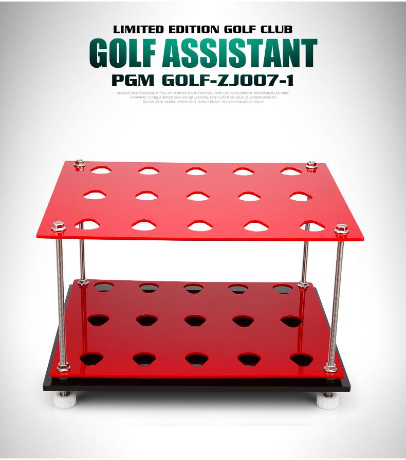 新款!  高尔夫亚克力球杆架 展示架 15洞球杆架子 收纳练习场用品