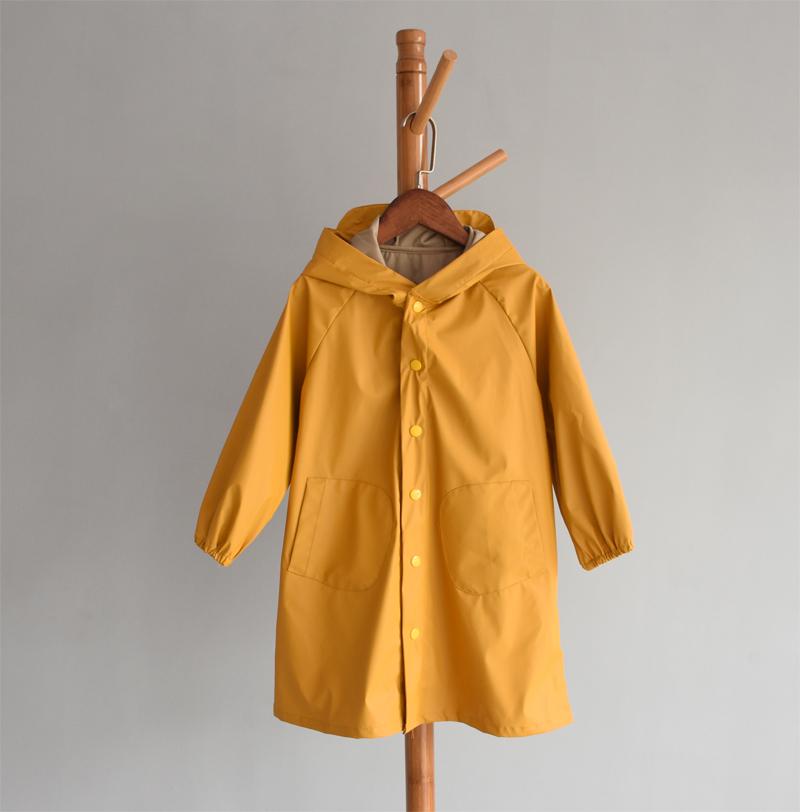 女童雨衣两色 粉色黄色120码