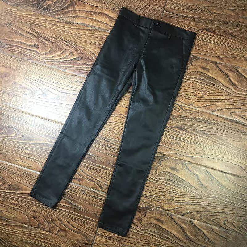 Кожаные брюки Артикул 599608418509