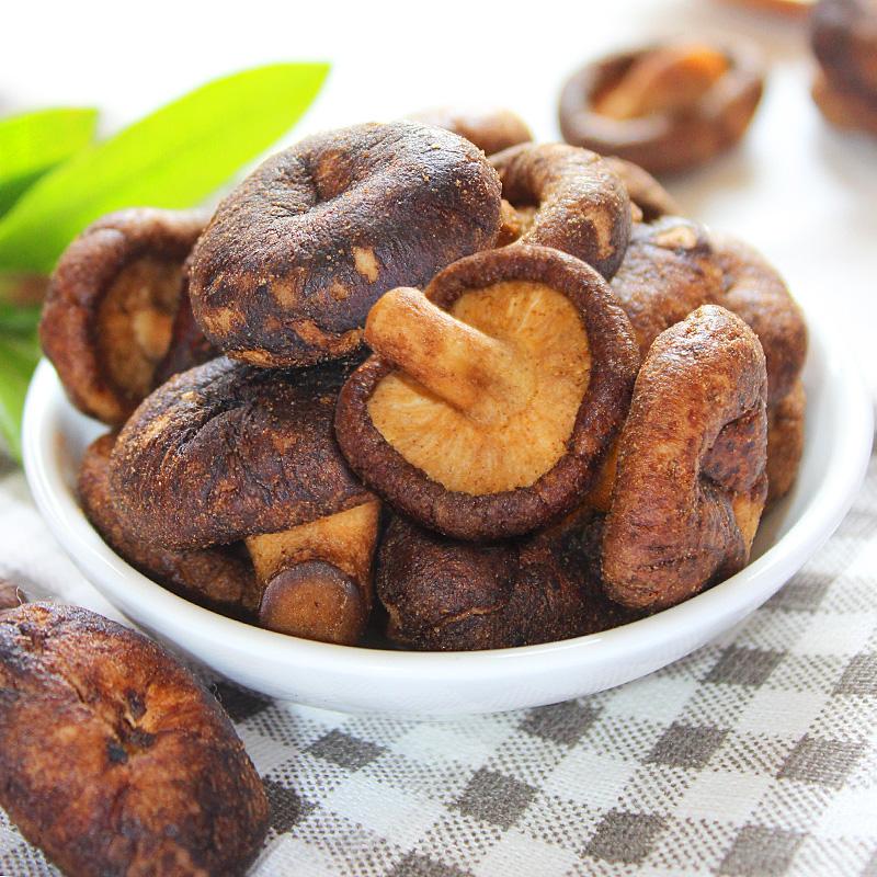 南国 食品海南特产 香菇脆50gx2袋 零食小吃即食蔬菜香蘑菇果干