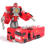 MINISO/ Name-created car Transformers King Kong fire truck five-in-one children's puzzle toys