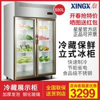 星星展示柜冰箱