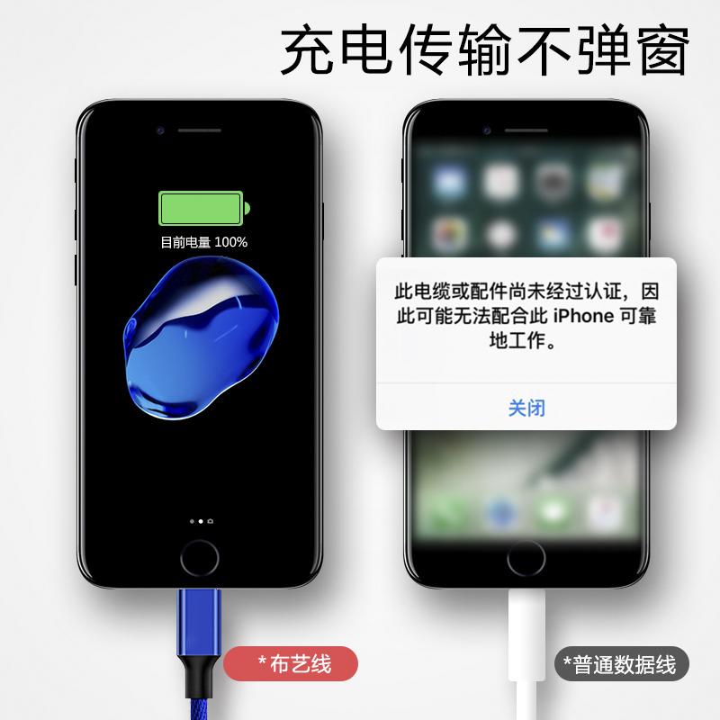 iPhone6车载数据线苹果6s手机快充7Plus充电线iPad手机充电器线