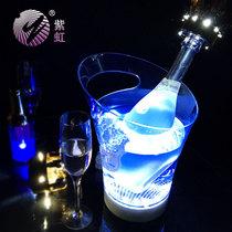 LED发光充电手提酒吧小号冰桶 酒桶洋酒红酒香槟桶 酒吧用品酒桶