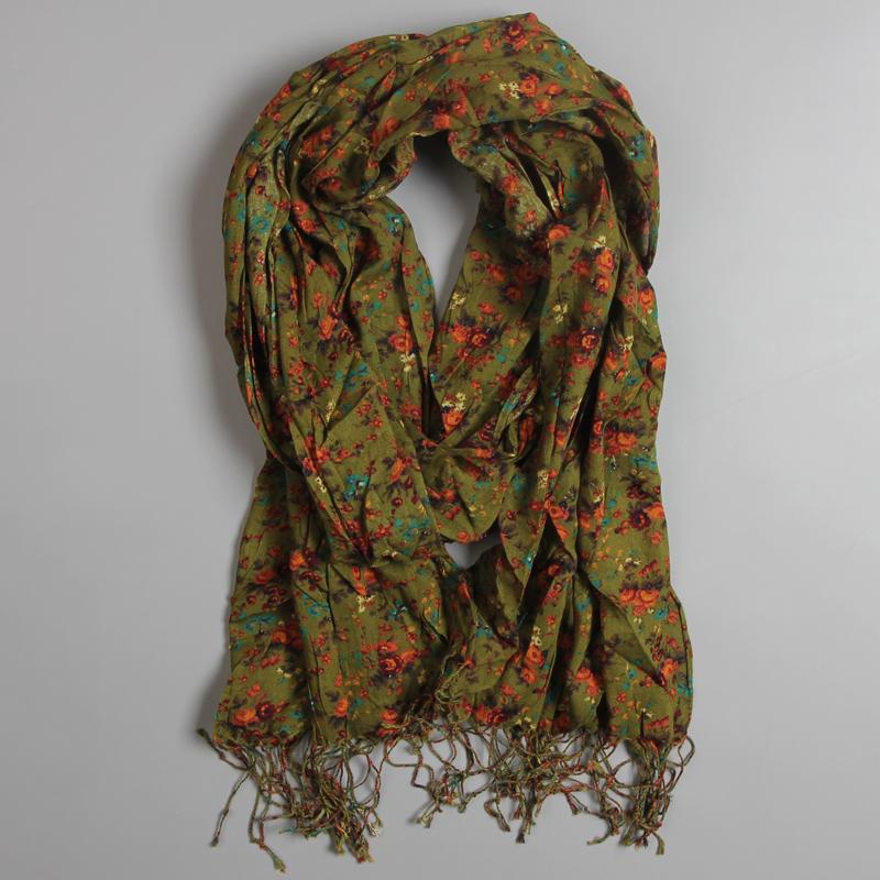Женские шарфы из хлопка Артикул 540091040082