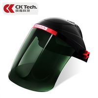 Head-mounted welding mask protective welder welding welding cap argon arc welding UV mask glasses two welding welding