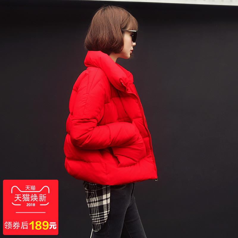 甜美冬装羽绒服