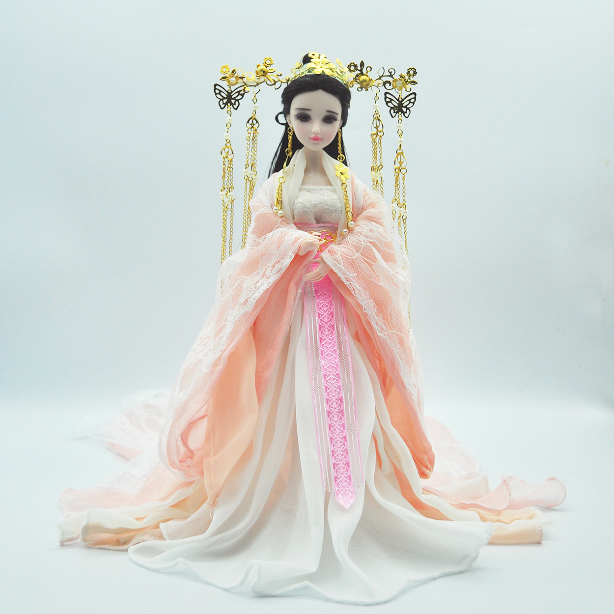 古装洋娃娃扶摇皇后同款娃娃14关节换装仙子3d真眼六一儿童节礼物