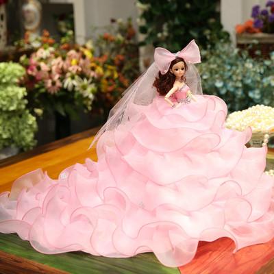 别墅游泳衣挂件收藏版迷你版头莹巴手提木偶书包芭比娃娃房间新娘