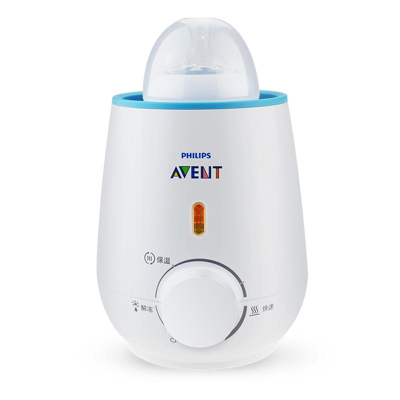 飞利浦新安怡暖奶器温奶器 宝宝热奶器智能恒温奶瓶加热 SCF35501