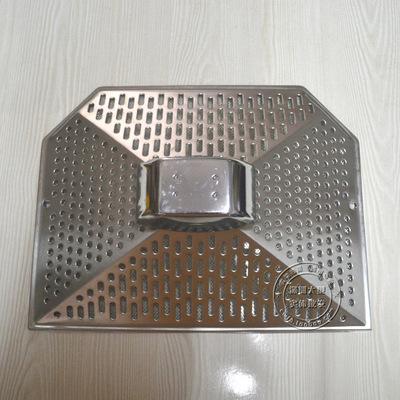 抽油烟机配件滤油网接油盒欧式抽烟烟机外罩通用过滤网外罩不锈钢