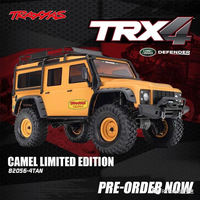 Traxxas TRX4 Camel Yellow Limited Edition Land Rover Defender RC four-wheel drive remote control model climbing car 82056-4