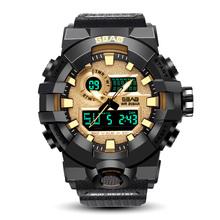 男士户外防水电子表运动手表男学生潮数字多功能LED夜光电子手表