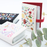Japan imported Petit fleur 2019 fairy tale card pack multi-card position organ embroidery cute girl heart