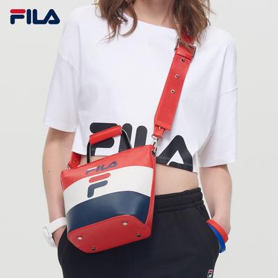 FILA斐乐背包女包2018秋季新款休闲运动时尚潮流单肩提包挎包女